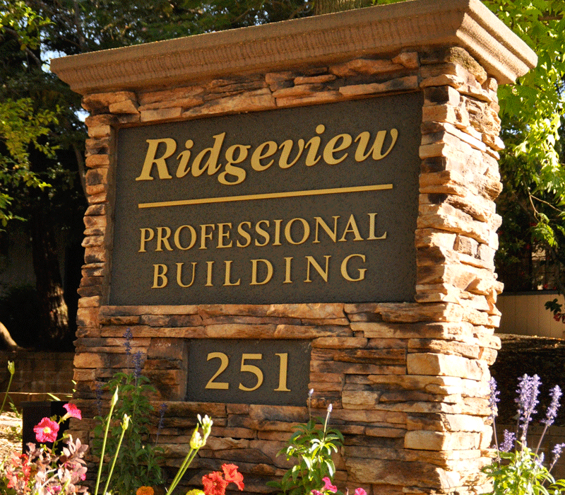 ridgeview professional front sign 3