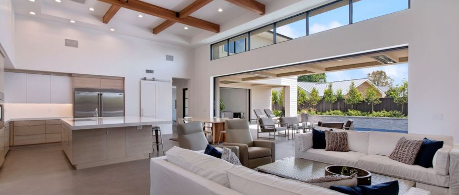 WWS Newport Beach Pocketing Multi-Slide Doors